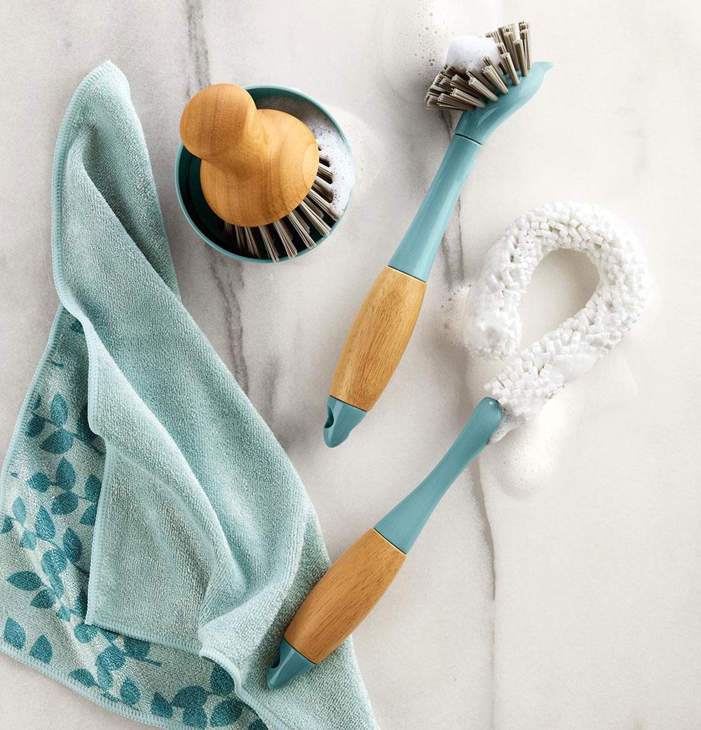 Produktdesign Reinigungsbürsten, Spülbürste, Pfannenbürste und Gläserbürste