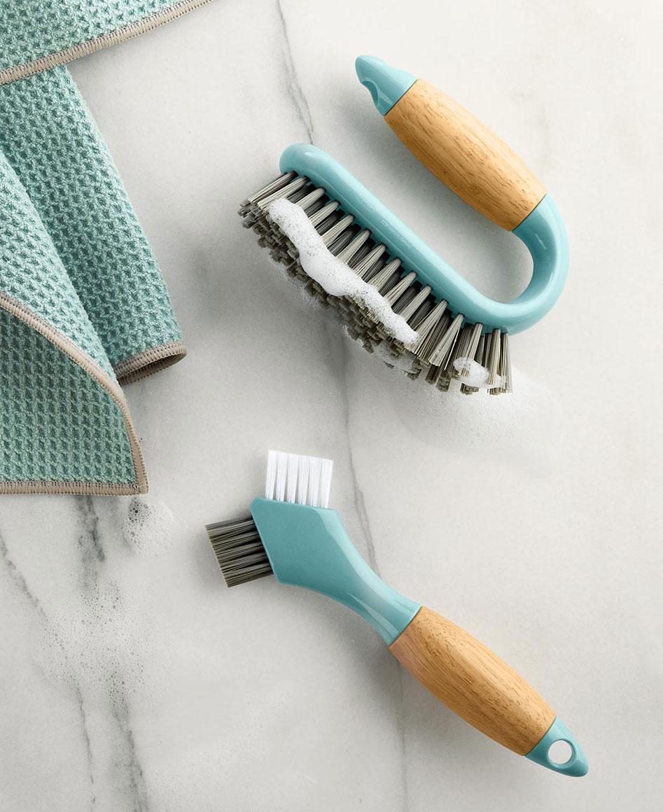Produktdesign Reinigungsbürsten, Fliesen- und Fugenbürste