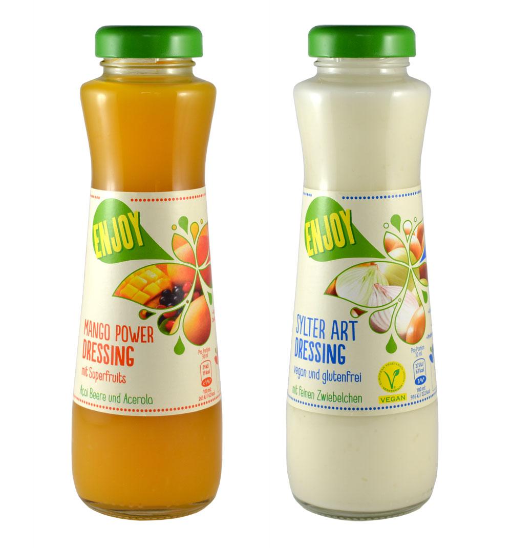 Verpackungsdesign Salatdressing