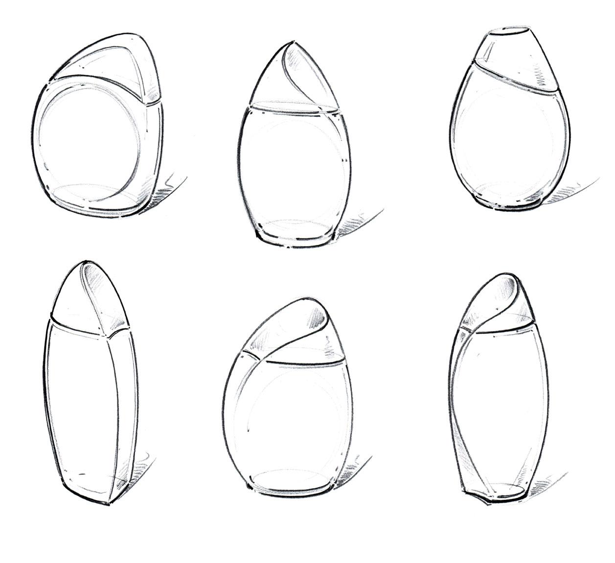 Skizzen Entwurfsphase