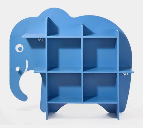 Entwicklung eines Kinderregals in Form eines Elefanten für TCHIBO