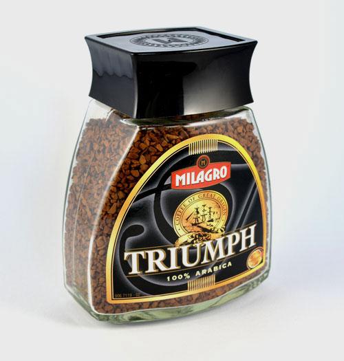 Das Kaffeeglas für MILAGRO wird weltweit vertrieben