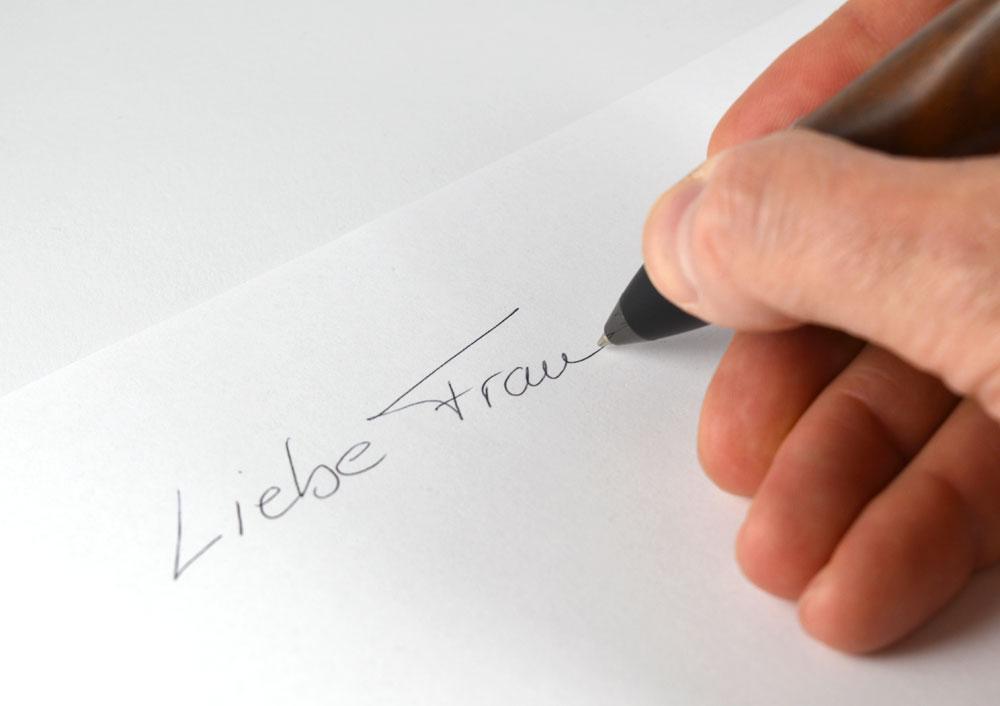 Produktdesign Brieföffner & Kugelschreiber in Arbeit 2